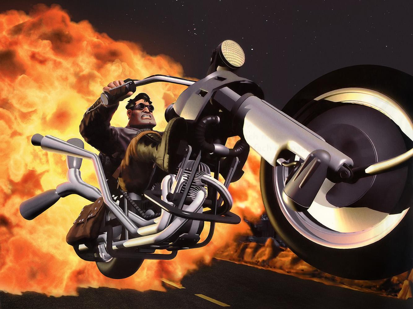 Bike Throttle Full Throttle Lucasarts Bike