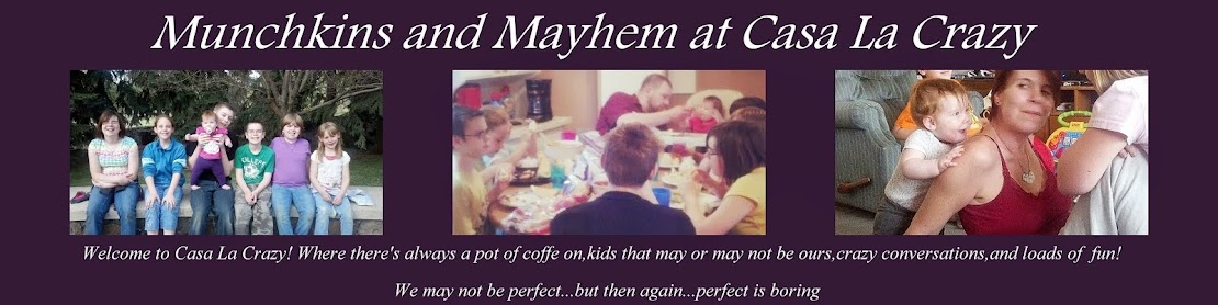Munchkins and Mayhem at Casa La Crazy