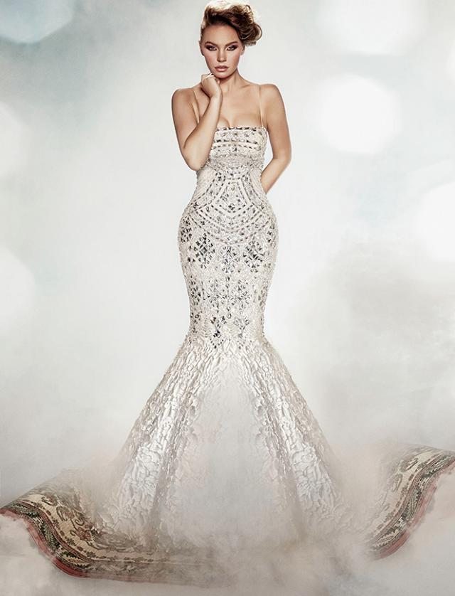 Preciosos vestidos de novias   Colección Dar Sara