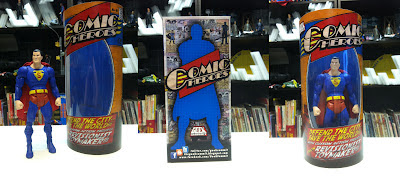 Custom superman figure Man of Steel Superman GeekSummit Figure Packaging