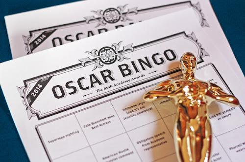 Free Oscar bingo game