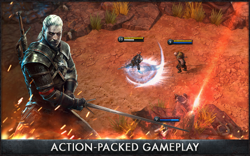 The Witcher Battle Arena v1.0.5 Apk for Android