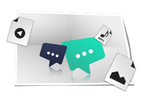 Fitur Simple Chat pada Grafitalk