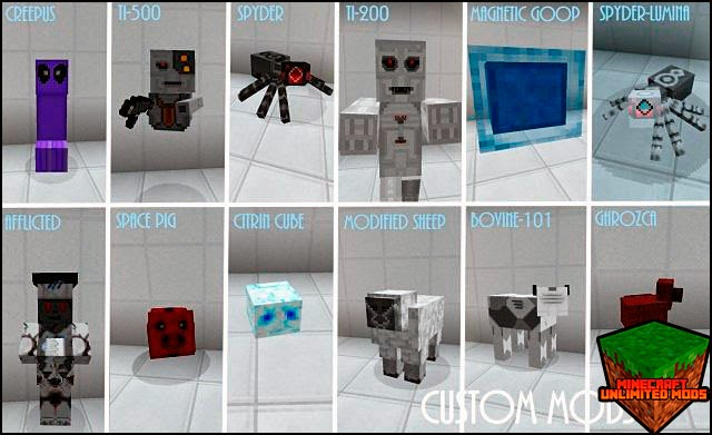 A New World resource pack mobs