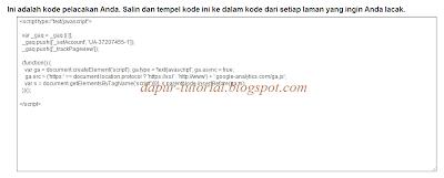 Google Analytics Step 6