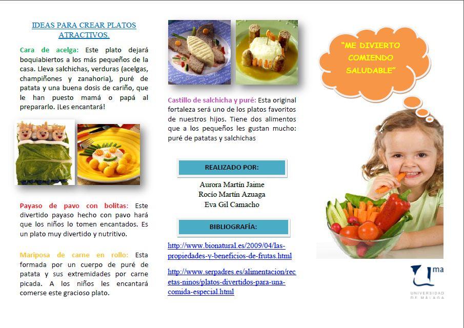 sources triptico de nutrició saludable es slideshare net triptico de