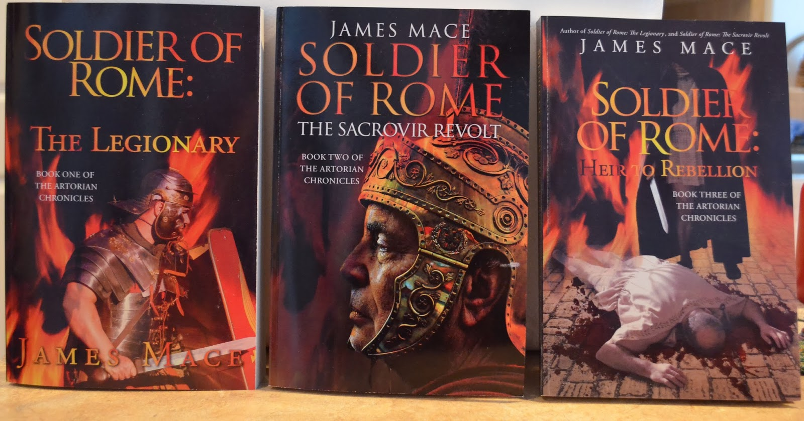 Revised Edition Of Soldier Of Rome: The Legionary, Along With Original  Editions Of The Sacrovir Revolt And Heir To Rebellion