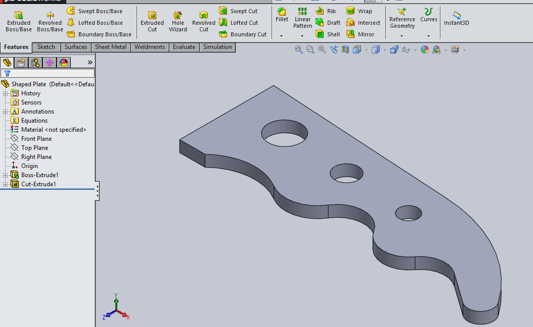 dfx/dwg creation in solidworks