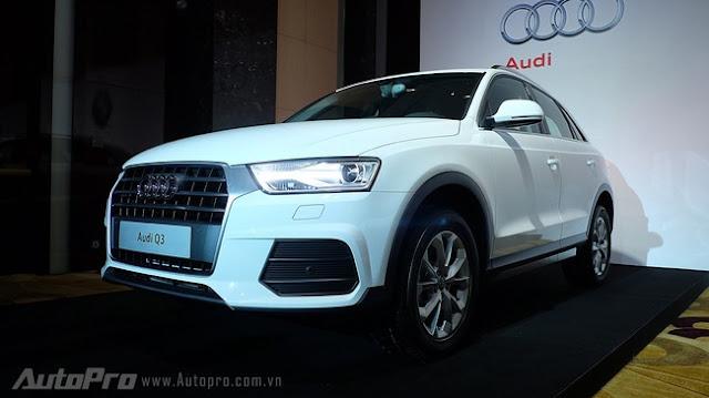 Audi Q3 2015 chính thức vào Việt Nam