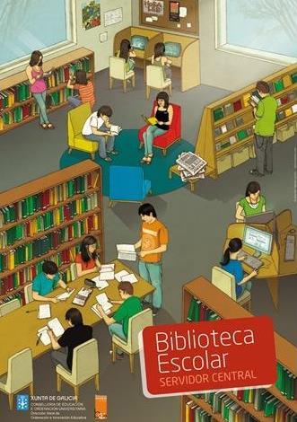 Dibujo por el Día de la Biblioteca Escolar