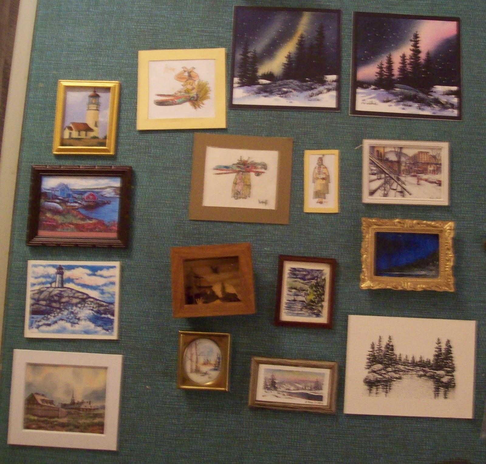 Fourth Wall Art Gallery Lewiston : Stalbertmini very slow day