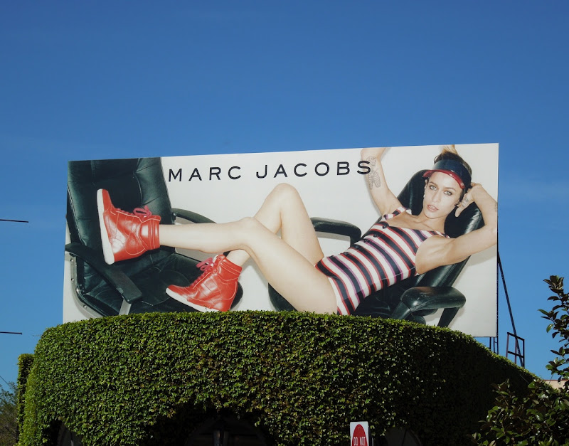 Marc Jacobs Spring 2012 billboard