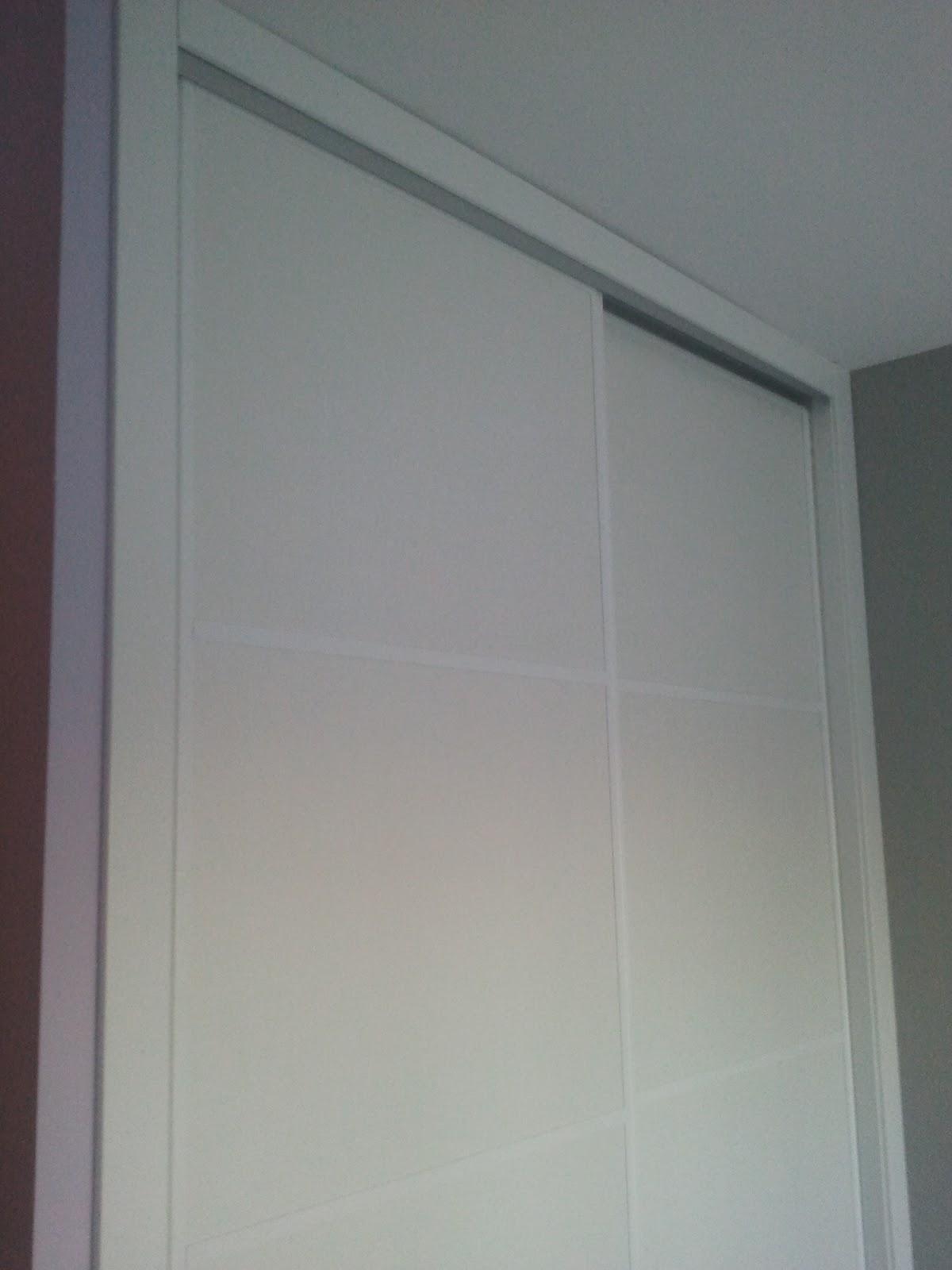 Montaje armario empotrado puertas correderas lacado blanco - Montaje armario empotrado ...