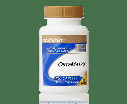 ostematrix shaklee membantu masalah kekejangan kaki