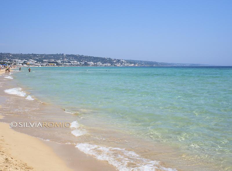 La spiaggia di Marina di Pescoluse