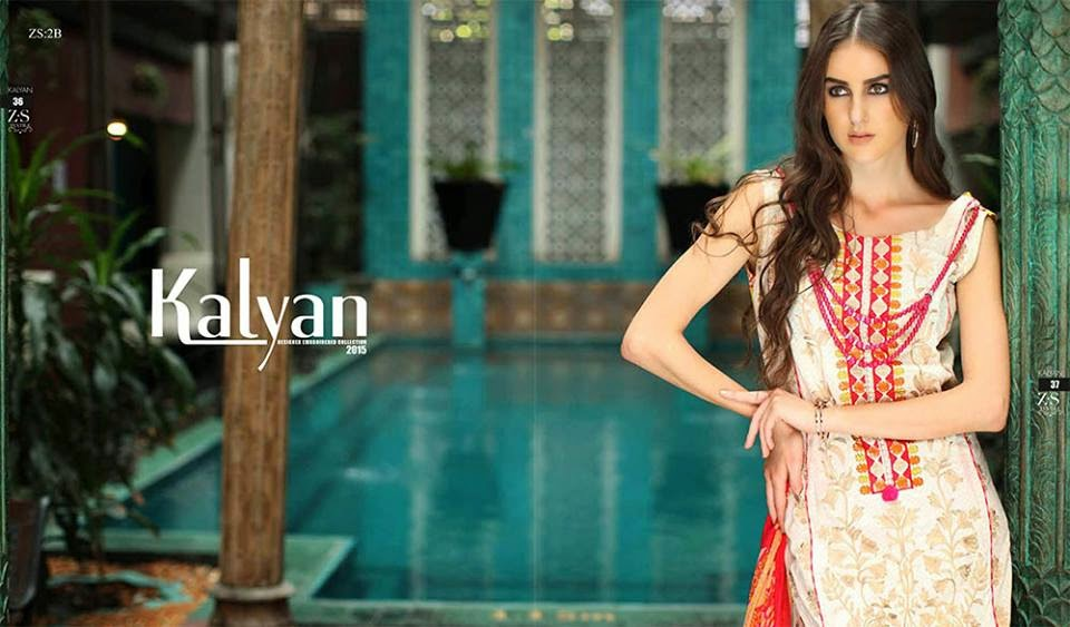 Kalyan Spring Lawn Collection for Girls