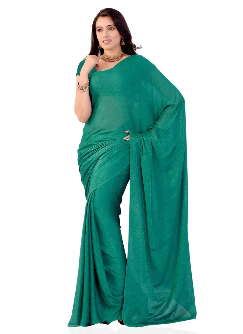 http://www.cbazaar.com/casual-saree/casual-drapes/elegant-teal-georgette-saree-p-sasdvf8075a.html