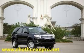 Cho thuê xe 7 chỗ Fortuner tại Hà Nội chuyên nghiệp