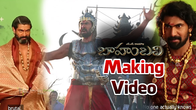 Making of Rana Daggubati as Bhallaladeva | Baahubali | Rajamouli