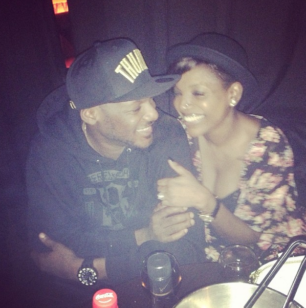 Annie Idibia back in Lagos with a new tattoo & nose piercing  –  Photos