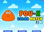 juegos Pou X Color Match
