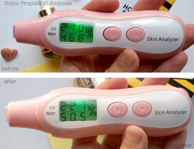 Scinic Propolis 95 Ampoule Ampoule, Royal Jelly in Skincare, Propolis in Skincare, Honey in Skincare. Benefits of bee products in skincare.Scinic Propolis Ampoule 95 review