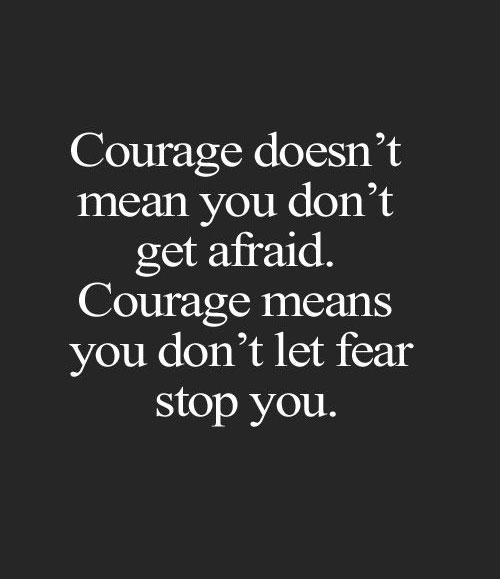 growth mindset resources courage means you dont let fear