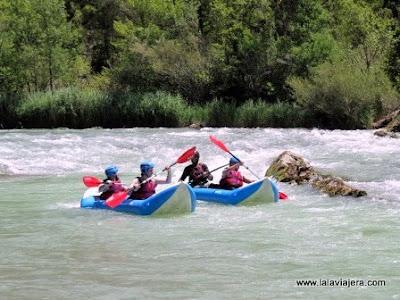 Rafting Rio Gallego, Huesca