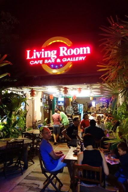 Living Room Cafe Bar Gallery Penang Rolling Writes