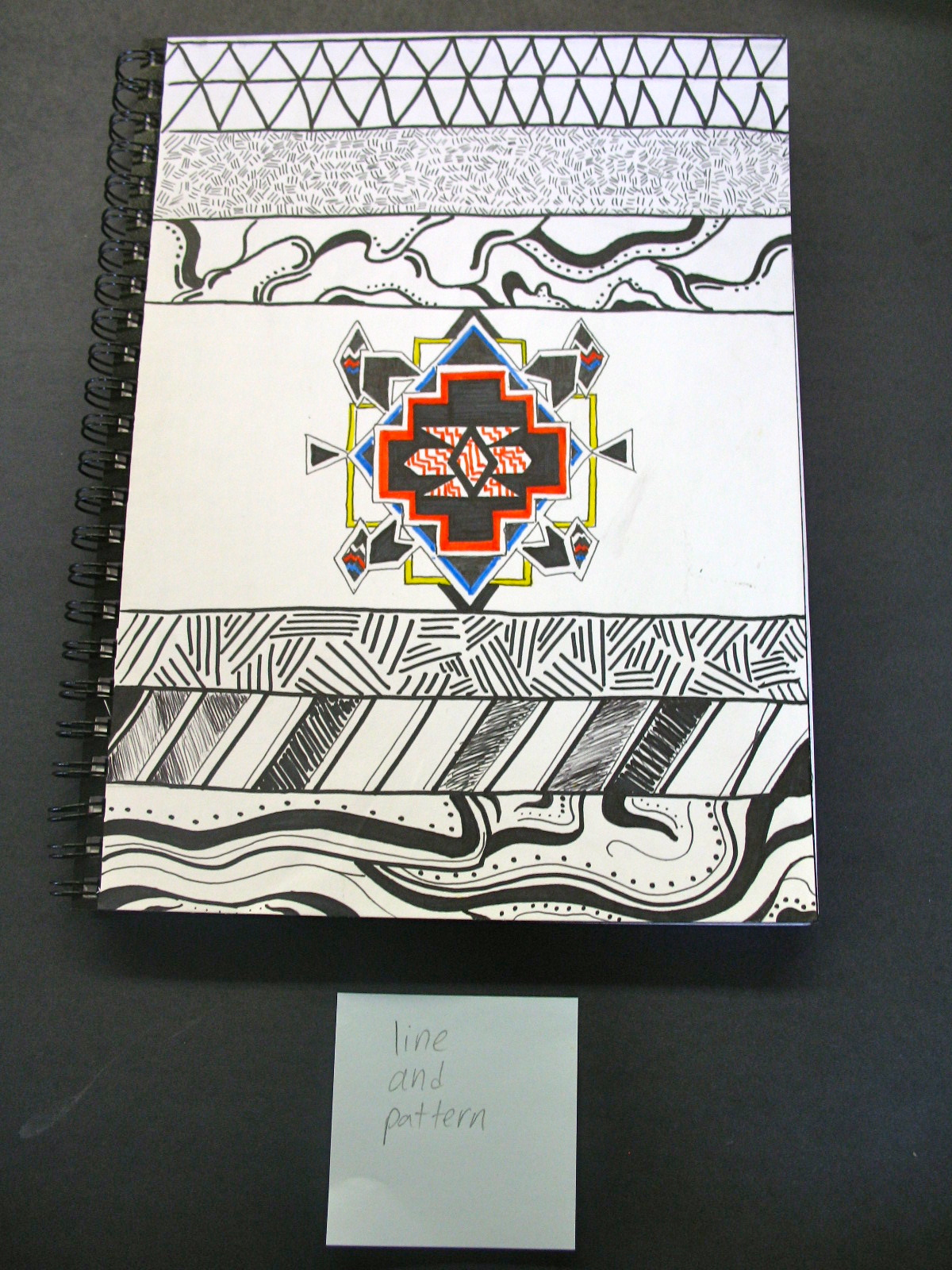 Sketch Book Cover ~ Lane tech art studio sketchbook covers