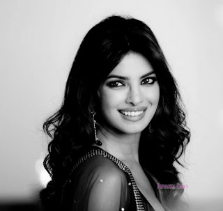 Priyanka Chopra on the sets of Nikon diwali special Ad shoot