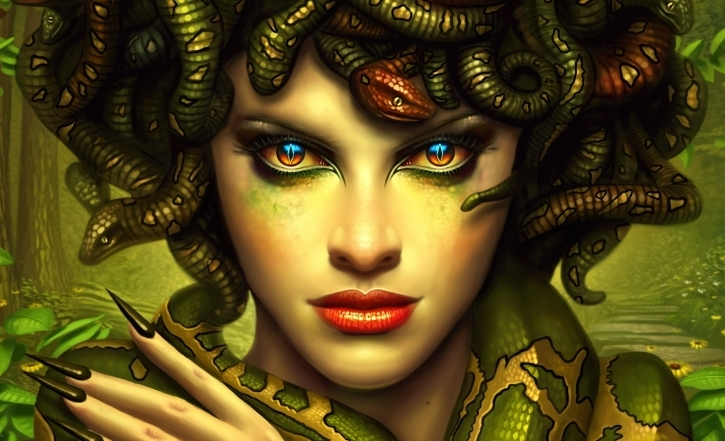 medusa | ... demonstrates that Emanuel can look into Medusa's eyes ...
