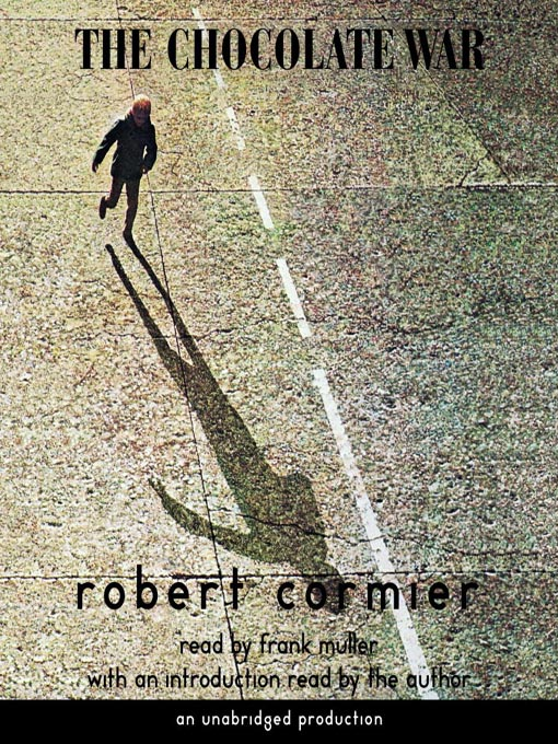 an examination of the book the chocolate war by robert cormier The chocolate war is a novel by robert cormier that was first published in   read a plot overview of the entire book or a story by story summary and  analysis.