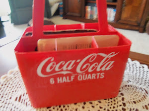 Plastic Coke Carrier 6 half quarts