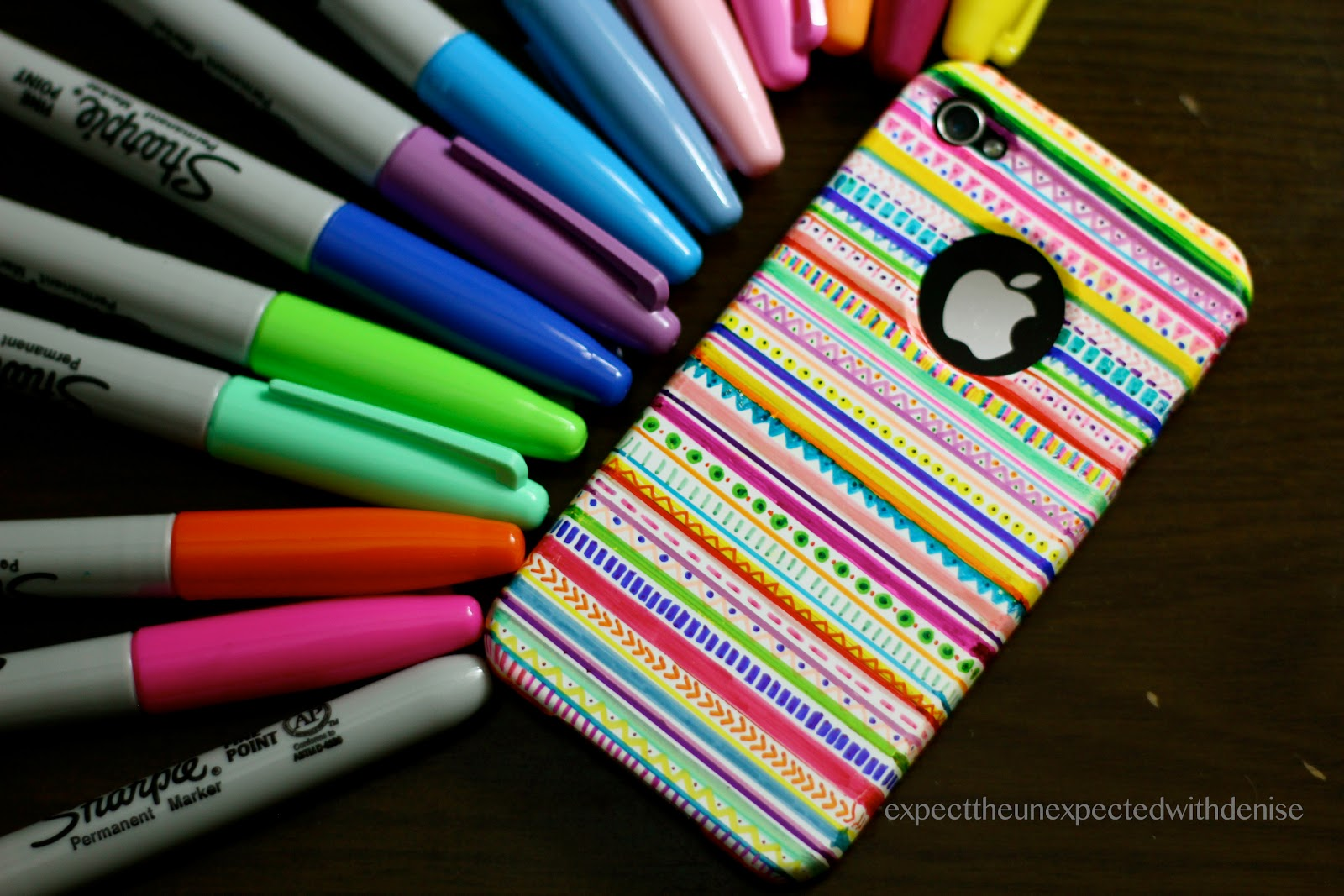 DIY Tribal Print iPhone Case