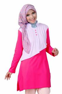 Contoh Busana Muslim 2015 Remaja Anggun