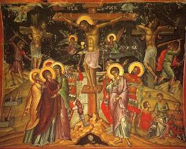 CRUCIFIXCIÓN DE JESÚS (Mt  27, 33-35)