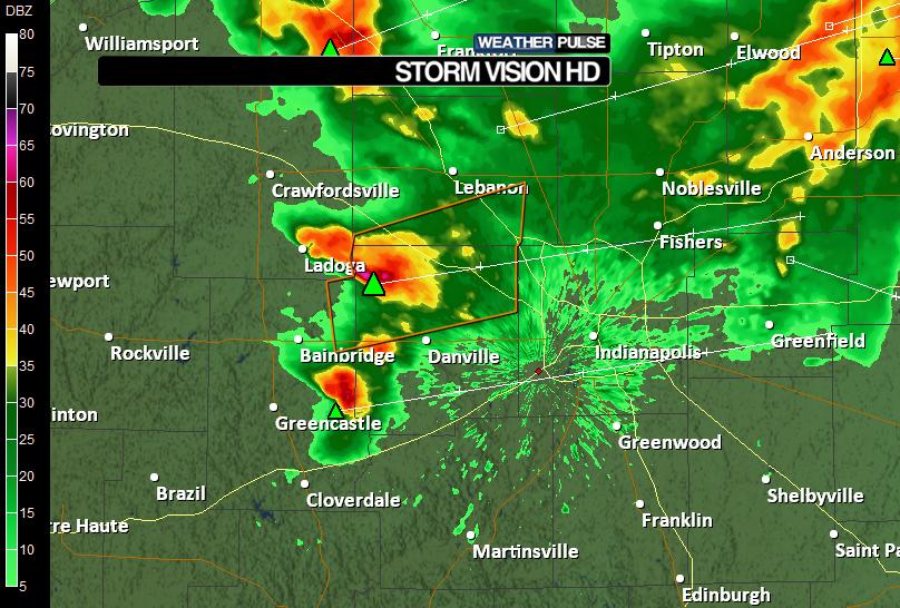 Indiana Doppler Weather Radar Map - AccuWeather.com