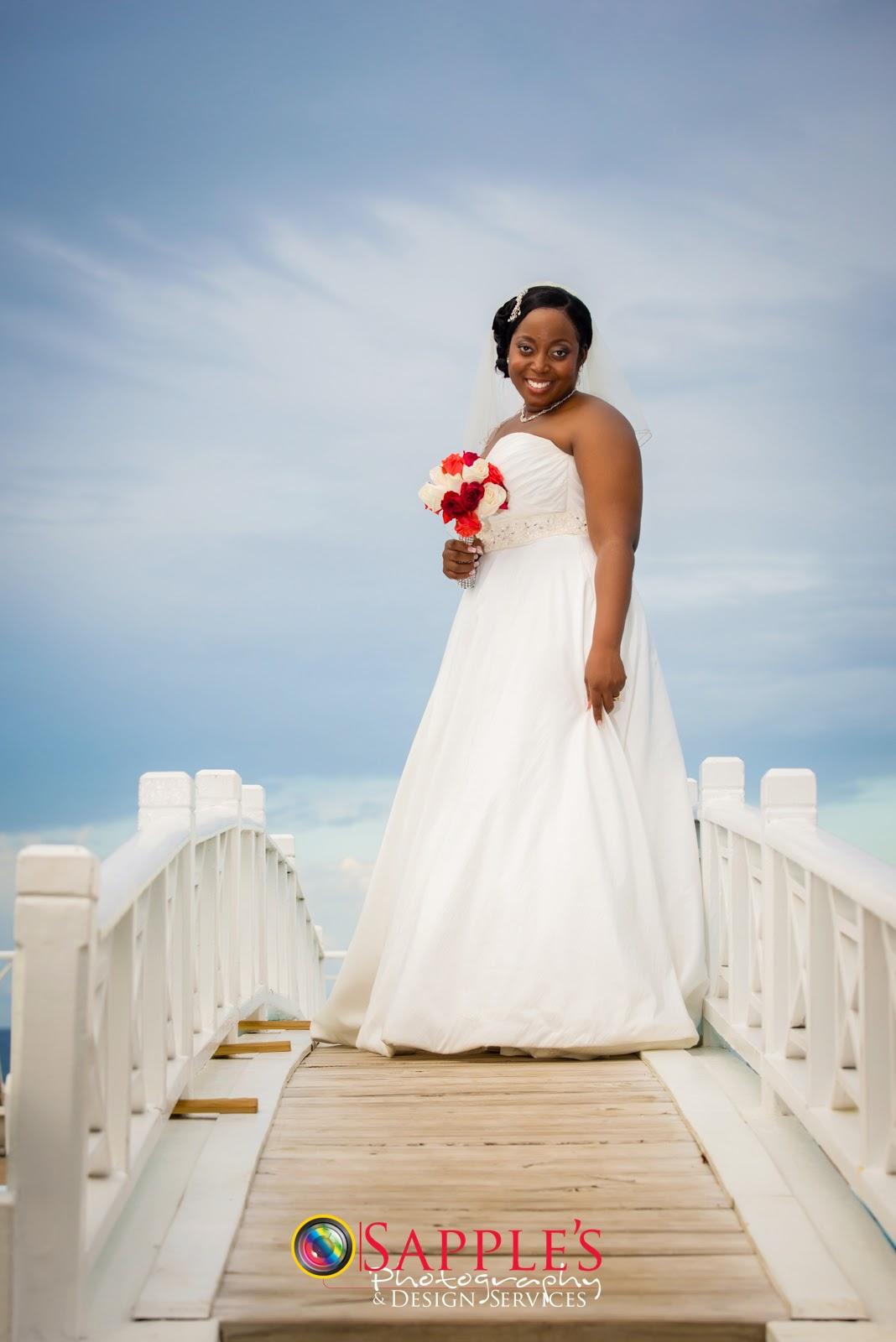 Nicole and Kemil Walford   Sapple\'s Wedding Photography