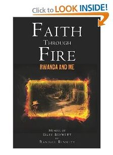 cover of Faith through Fire: Rwanda and Me by Randall Bennett