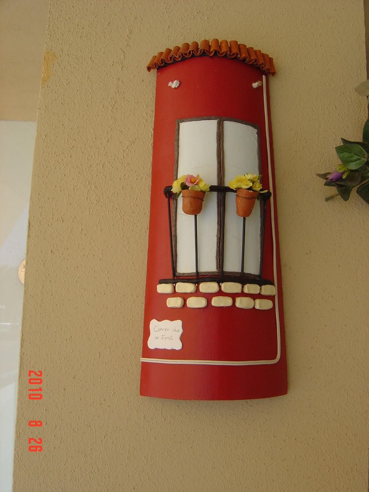 El rinc n de ague tejas pintadas for Pintura para tejas