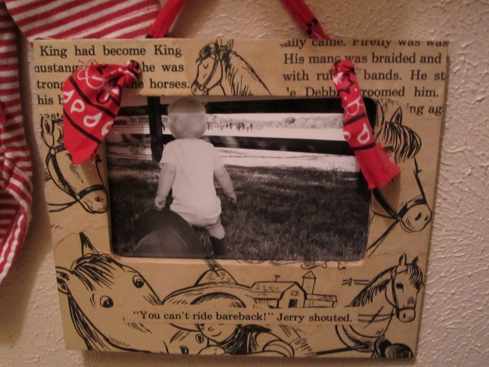 The Sometimes Supermom: Vintage Cowboy Frames
