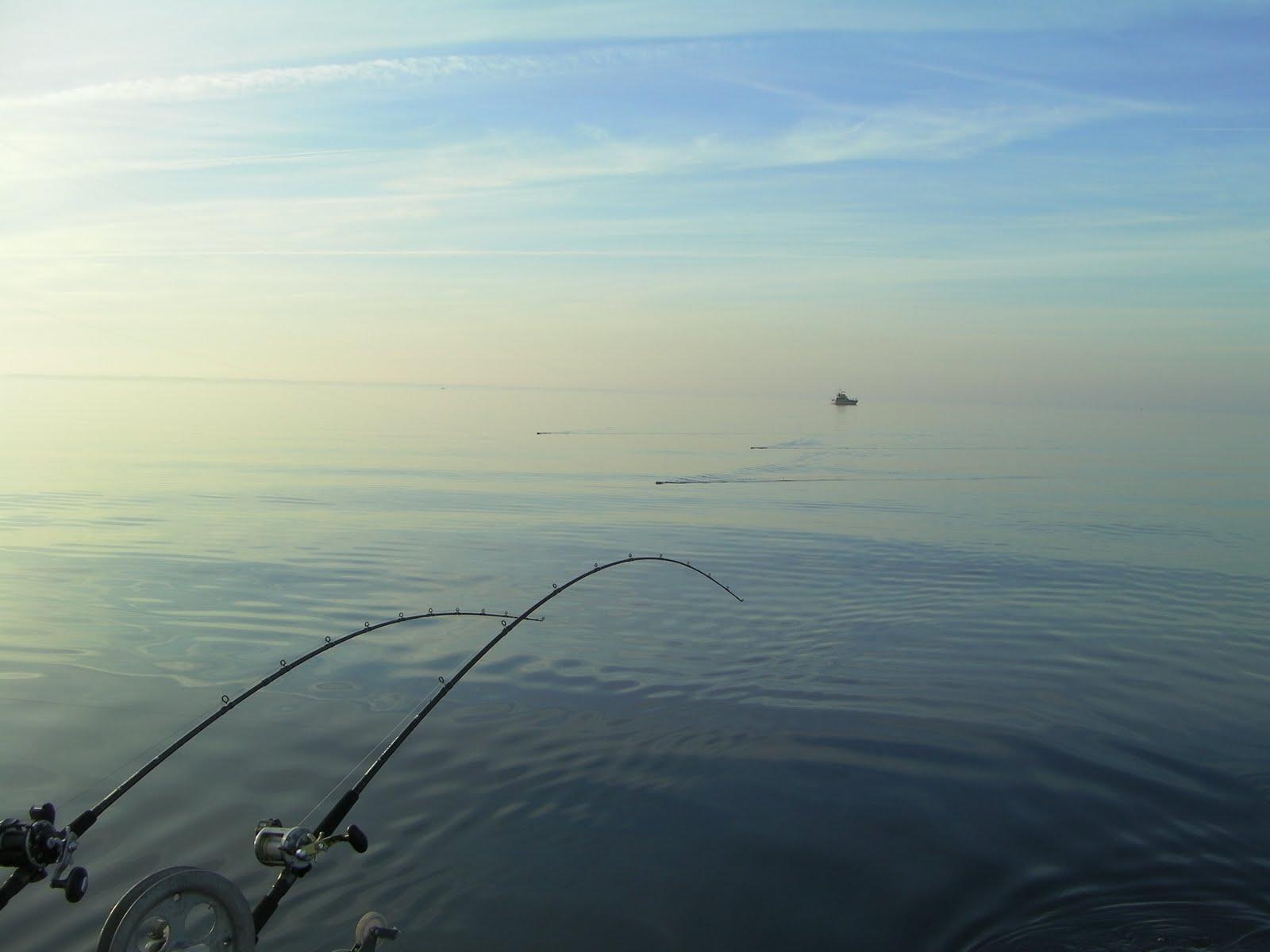 Wisconsin fishing reports kewaunee salmon report for Fishing lake michigan