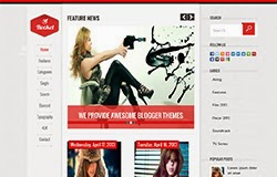 Rocket Responsive Blogger Template