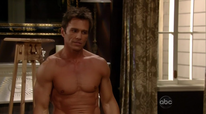 Scott Reeves Shirtless on General Hospital 20110504