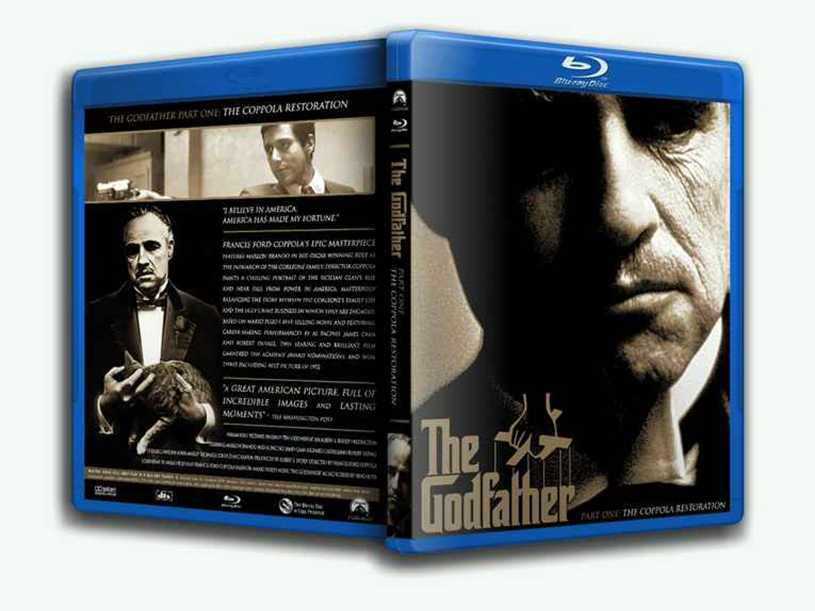 The Godfather1 Blu-ray DVD Case Box