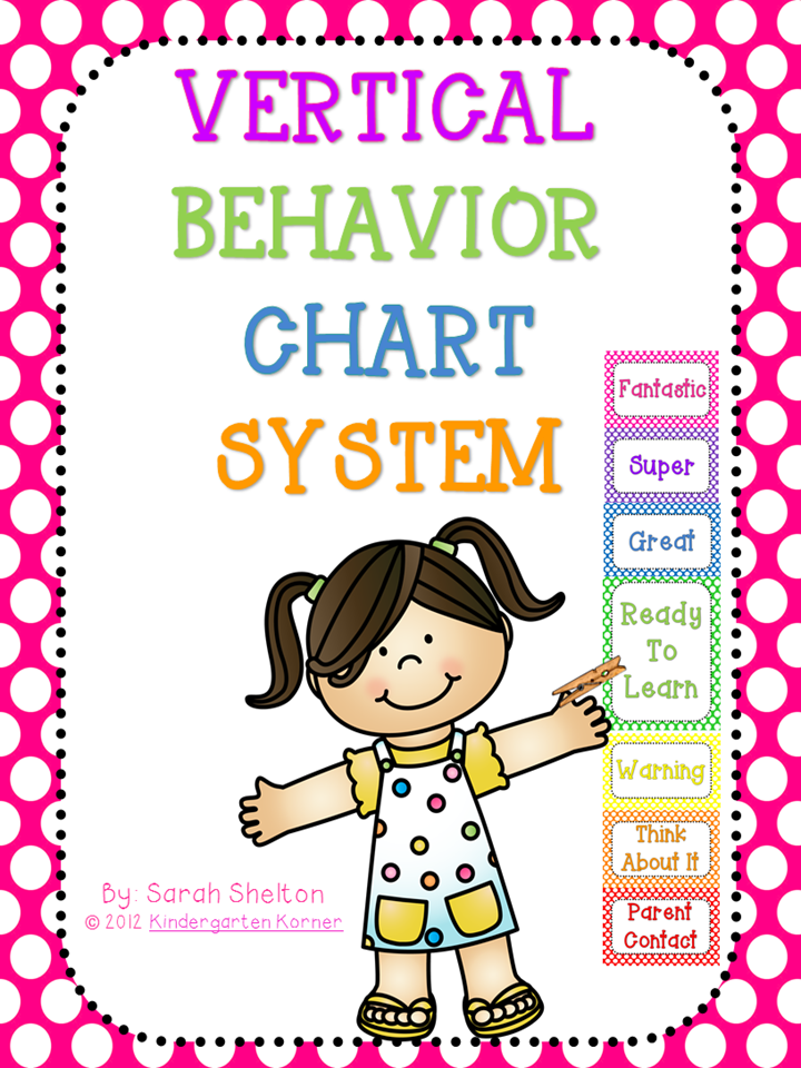 http://www.teacherspayteachers.com/Product/Vertical-Behavior-Chart-System-Polka-Dot-274180