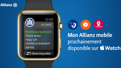 Allianz sur Apple Watch
