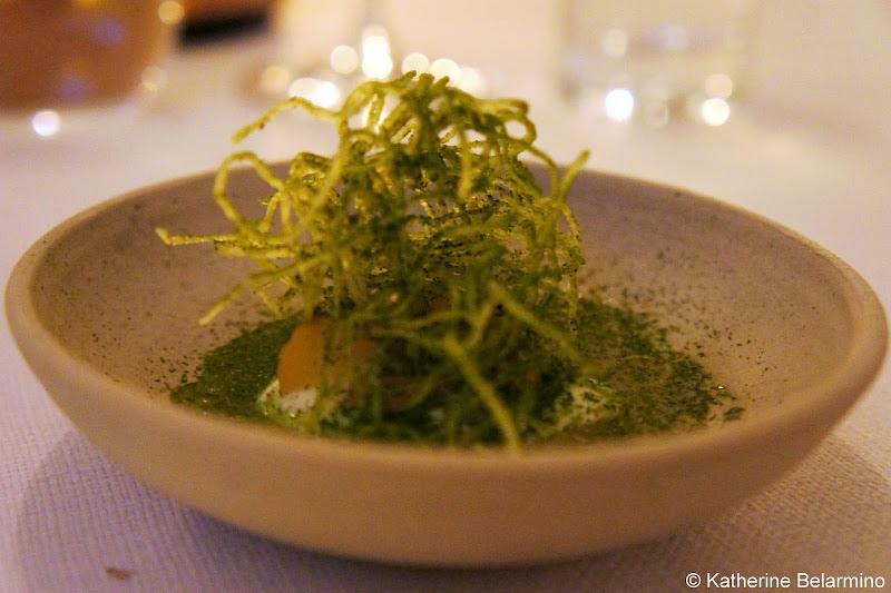 Seaweed Salad Restaurant AOC Copenhagen Denmark