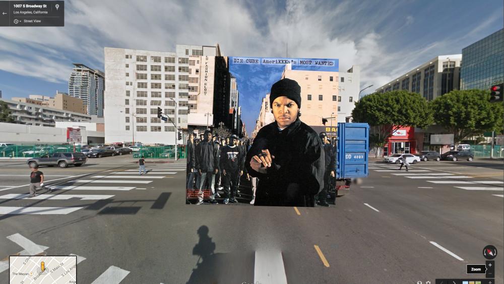 Ikonische Hip Hop Album Cover Foto Sets in Google Street View | Wo wurde das Coverbild geschossen?!